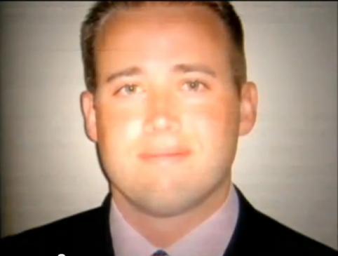 Travis Alexander in Suit. Notice, upper eyelids are present. Notice